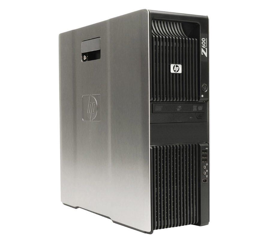 "HP Z600 Xeon Quad Core Workstation + 22"" Monitor"