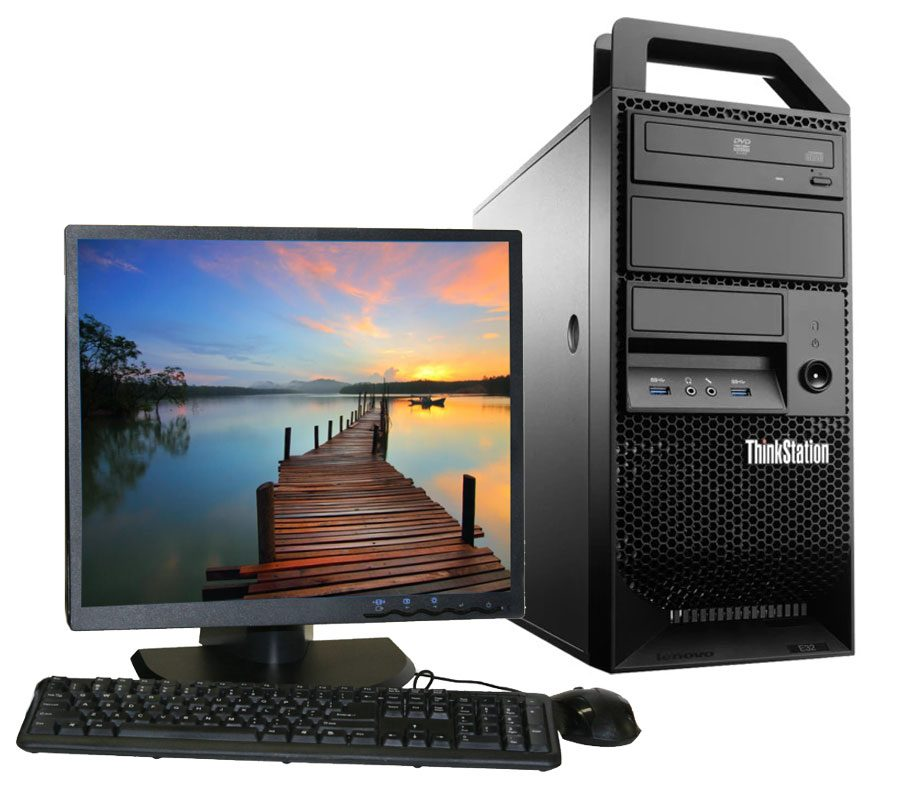 Lenovo Thinkstation E32 - Tower + LCD (Refurbished)