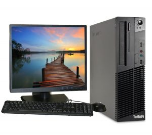 "Lenovo Thinkcentre M72e + 19"" LCD Desktop"