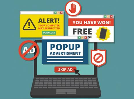 Pop-up phishing